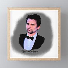 matthew bellamy 006 Framed Mini Art Print