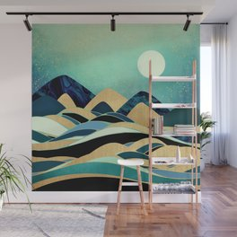 Emerald Evening Wall Mural