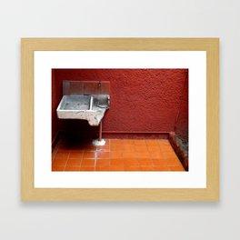 Chilango Sink Framed Art Print