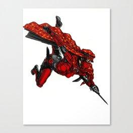 Zauba flies Canvas Print