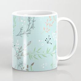 Light And Lovely Spring Floral Garden Pattern Coffee Mug