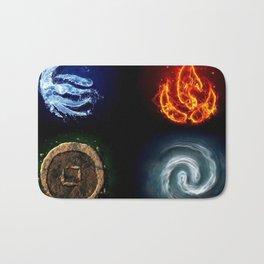 Four Elements- Avatar Bath Mat