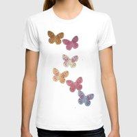 butterflies T-shirts featuring Butterflies  by Sammycrafts