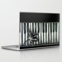 rustic Laptop & iPad Skins featuring Rustic by Mandi Ward