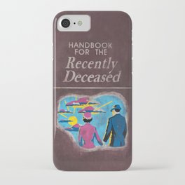 Beetlejuice - Handbook for the recently deceased iPhone Case