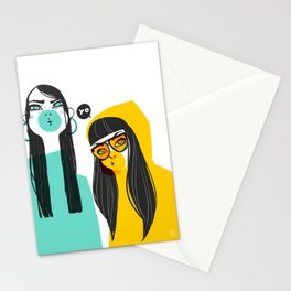 Bubble G▲ng Stationery Cards