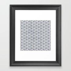 chiang tapestry bw Framed Art Print