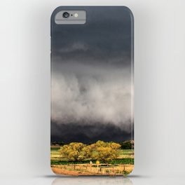 Tornado Day - Storm Touches Down in Northwest Oklahoma iPhone Case