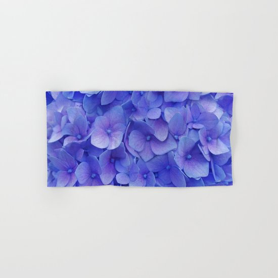 Hydrangea blue Hand & Bath Towel