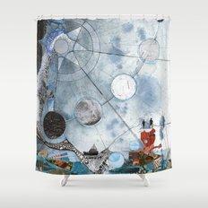 Exploration: Setting Sail Shower Curtain
