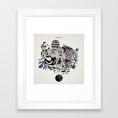Drawing Collage #02 Framed Art Print
