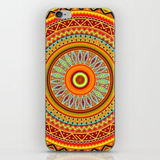 Mandala Aztec Pattern 5 iPhone Skin