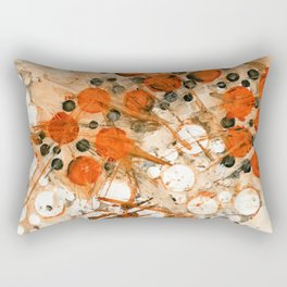 Bouncing Atoms Rectangular Pillow