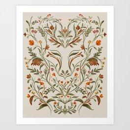 Fox In The Woods Art Print