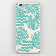 Jungle Green iPhone & iPod Skin