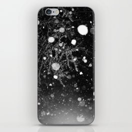 snowy night iPhone Skin