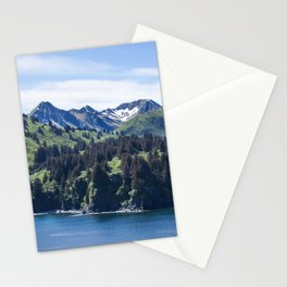 Three Sisters Mountains Photography Print Stationery Cards
