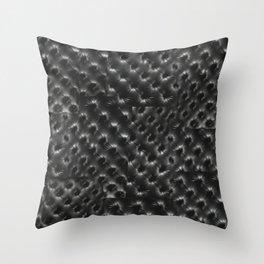 BLACK TUFT Throw Pillow