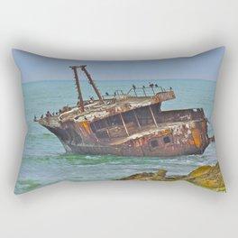 Cormorants Rest Rectangular Pillow