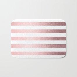 Simply Striped Rose Quartz Elegance Bath Mat