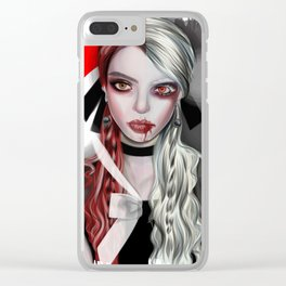 vampire Clear iPhone Case