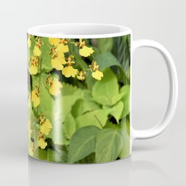 Butterfly And Orchids Coffee Mug