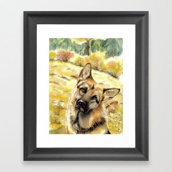 Rex Framed Art Print