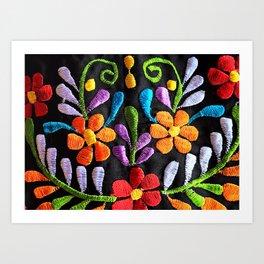 Mexican Flowers Kunstdrucke