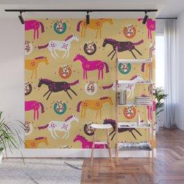 Lucky Horses Wall Mural