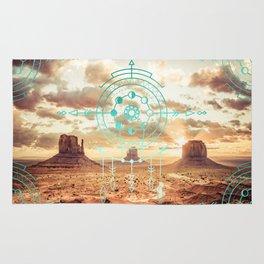 Mandala Desert Dawn Rug