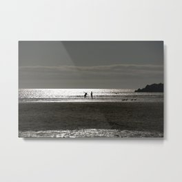 in harmony with the sea Metal Print
