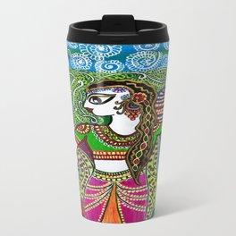 The Indian Fisher Woman Travel Mug