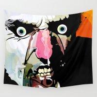 frank Wall Tapestries featuring Frank by Alvaro Tapia Hidalgo