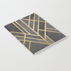 Art Deco Geometry 1 Notebook