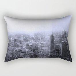 London Old vs New Rectangular Pillow
