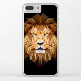 LION XXX Clear iPhone Case
