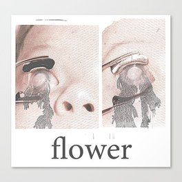 flower 1/2 Canvas Print