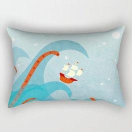 A Bad Day for Sailors Rectangular Pillow
