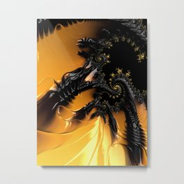 Dragon's Lair Metal Print