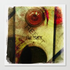 reset Canvas Print