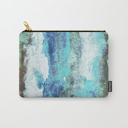 Turquoise And Earth Nebula Carry-All Pouch