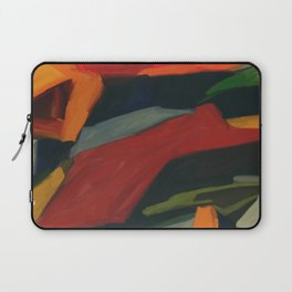 Lessons To Learn Abstract Landscape Laptop Sleeve
