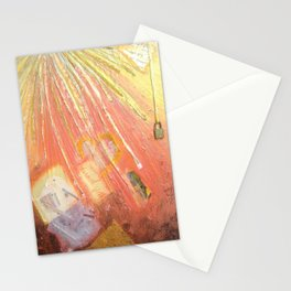 YELLOW LIGHT by Elena Raimondi Stationery Cards