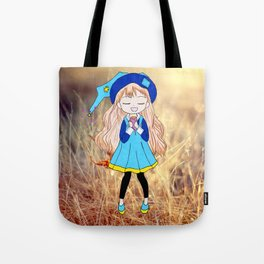 Witches in fall Tote Bag