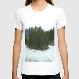 Sunwapta Falls - Jasper National Park T-shirt