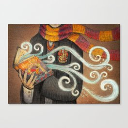 Books magic Canvas Print