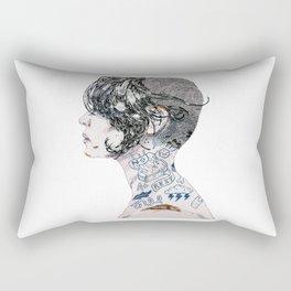 Aint no rest. Rectangular Pillow