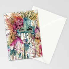 Mask | Natural Fashion Stationery Cards