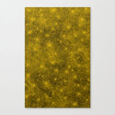 Sequin series gold Canvas Print