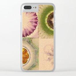 Carpincho Wraith Flower  ID:16165-041255-38370 Clear iPhone Case